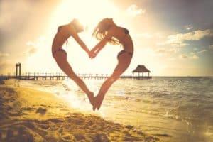 Solspa Tanning Beach Heart Love Tan